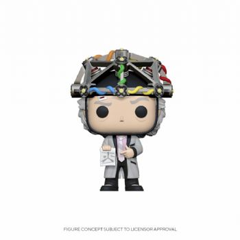 Funko Pop! Vinyl Back to the Future Doc with Helmet Figure - Pre-Order